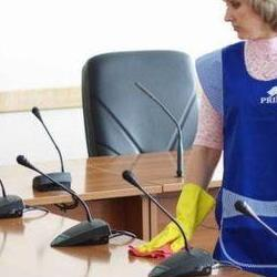 sprzątanie sali konferencyjnej